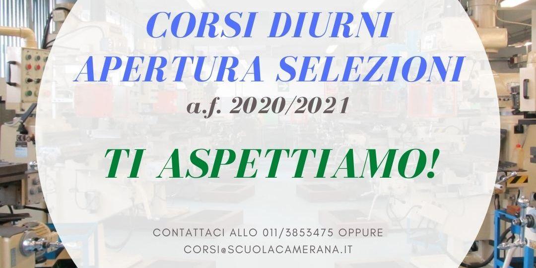 Apertura selezioni 2020_2021